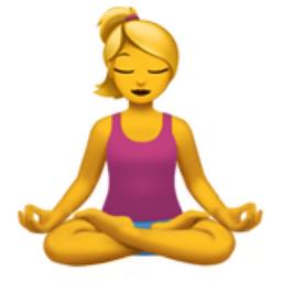 Femme Dans La Posture Du Lotus