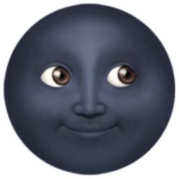 Nouvelle Lune Avec Visage